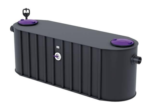 KESSEL Grease Separator EasyClean Free NS15 to NS30 -  Standard