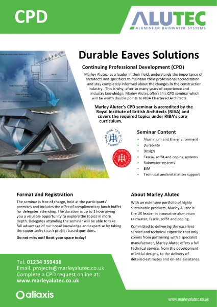 Alutec CPD leaflet