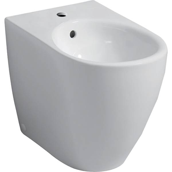 iCon floor-standing bidet, back-to-wall, shrouded