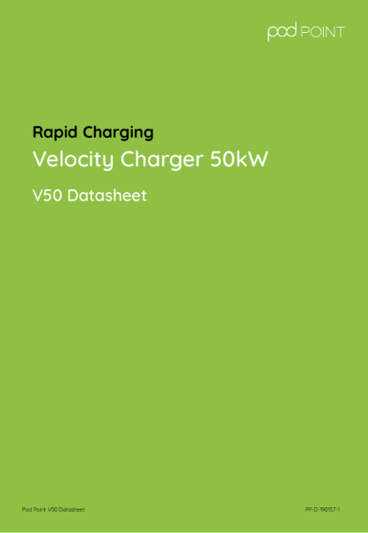 Velocity V50 Rapid Charger