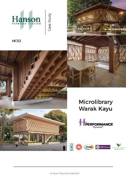 Performance Plywood® Case Study - Microlibrary Warak Kayu