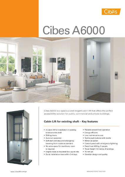 Cibes A6000 Cabin Lift