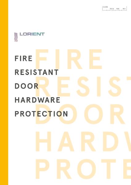 Specialised Fire Resistant Door Hardware