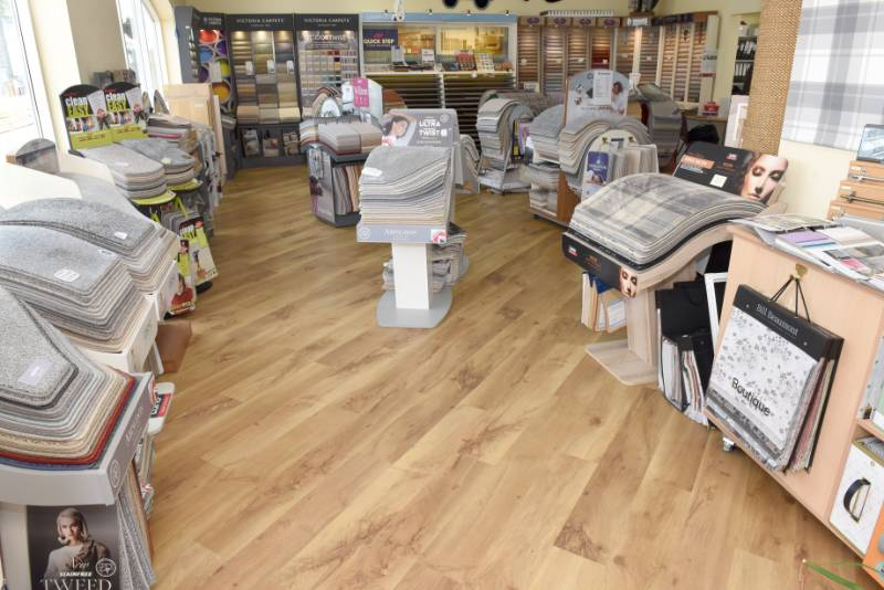 'Flooring by Henton' Showroom - F. Ball products spark conversations at 'Flooring by Henton' refurbishment