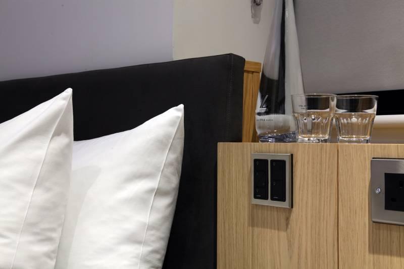 Z Hotel London City Lutron myRoom Prime lighting control
