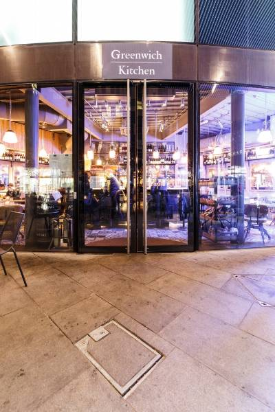 Greenwich Marketing Hub. Bespoke Swing Doors