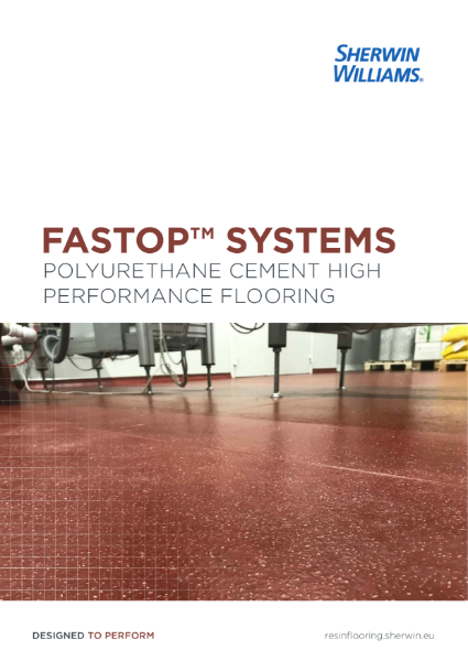 A guide to FasTop polyurethane cement flooring systems for the Food and Beverage sector and for heavy industrial environments