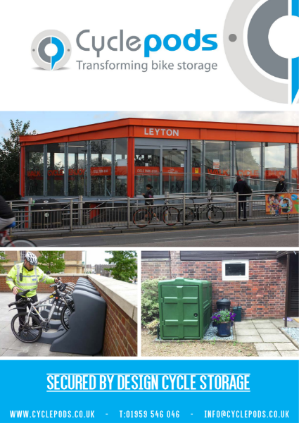 Secured by Design Cycle Storage