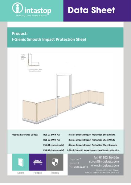 Smooth Hygienic Sheet Data Sheet