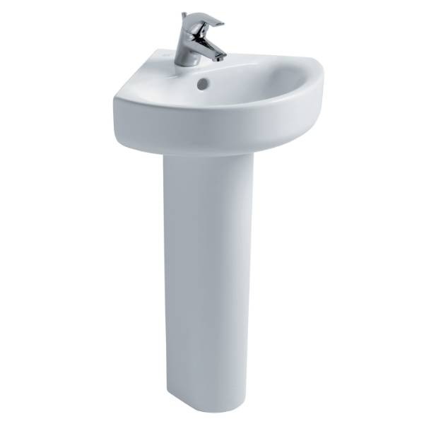 Concept Arc 45 cm Corner Handrinse Washbasin