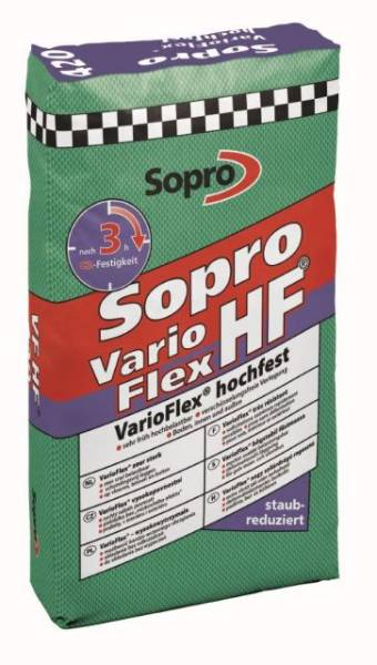 Sopro VF HF 420 - VarioFlex® High Strength Flexible Tile Adhesive