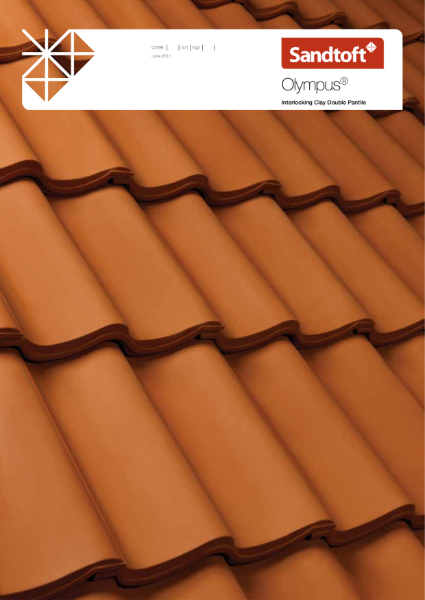 Olympus clay double pantile