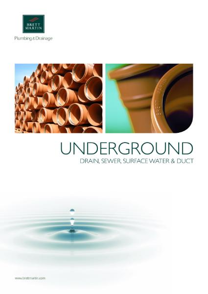 Underground Drainage Brochure