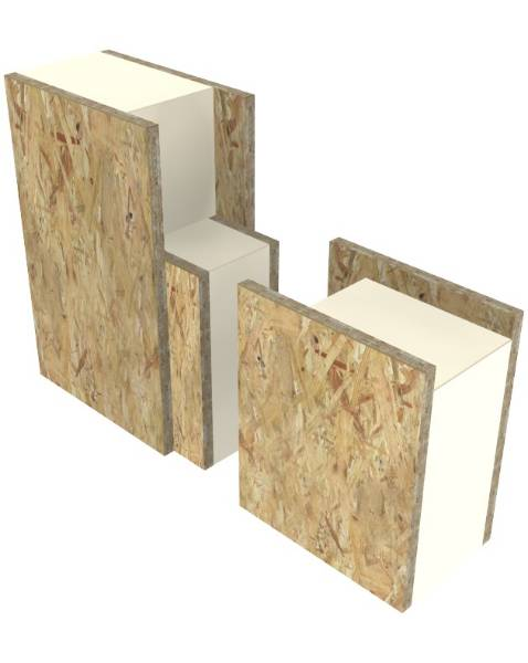 Hemsec Structural Insulated Panels 15mm OSB