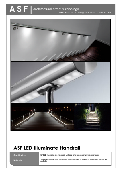 ASF LED Illuminated Handrail