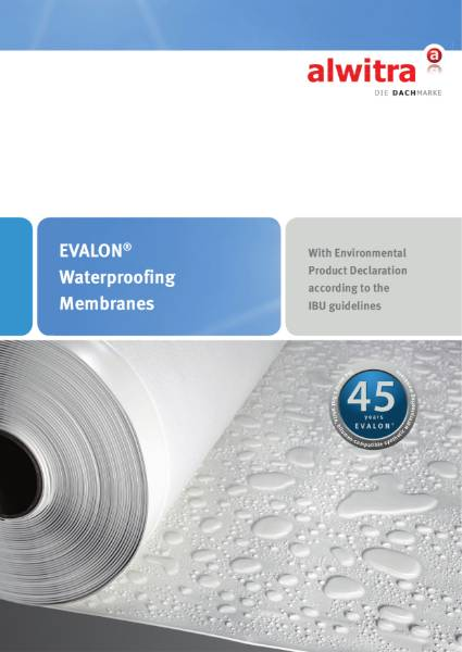 Evalon Roofing and Waterproofing Membranes