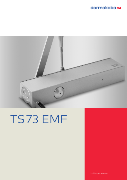Dorma TS 73 EMF Hold-open system