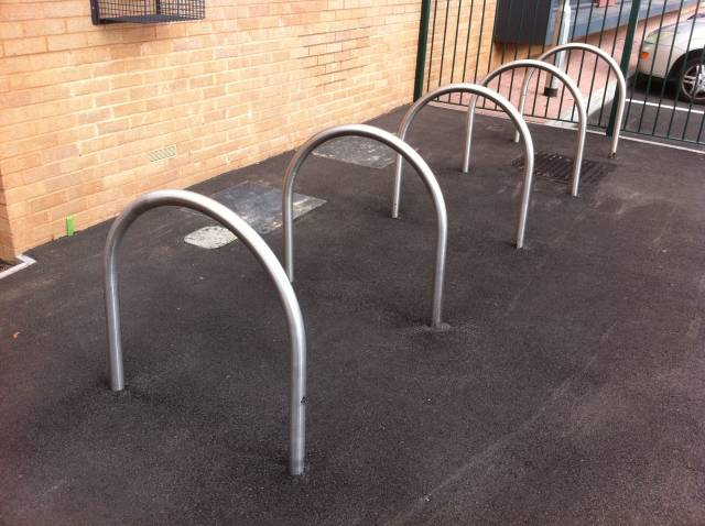 Kirby Cycle Stand - Galvanized Steel