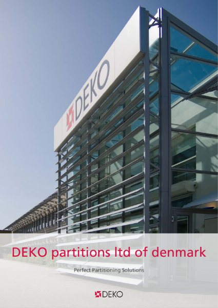 Deko Partitions Ltd of Denmark