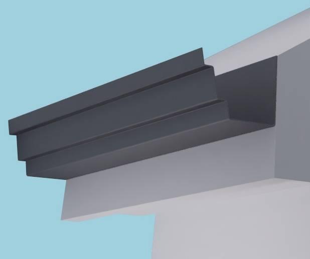 Trent Aluminium Gutter