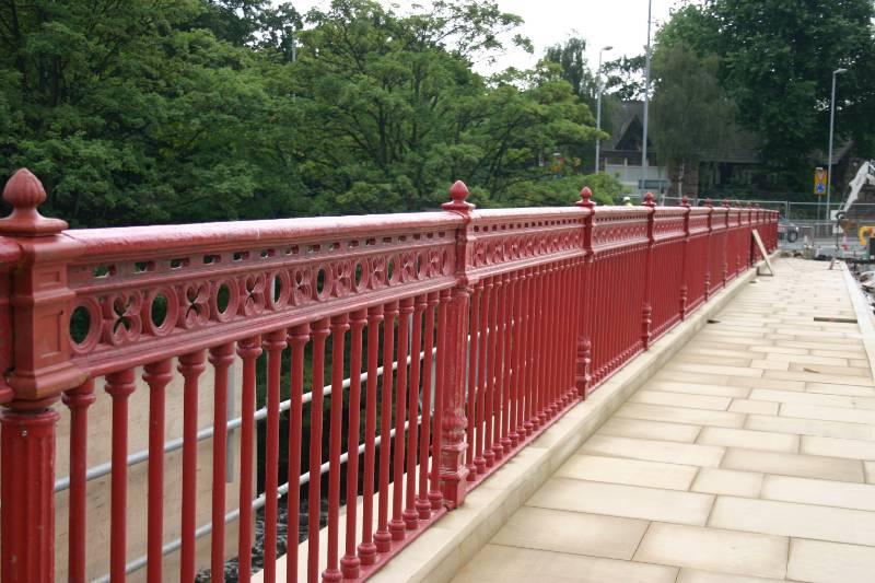 Cleggford Bridge Parapet Refurbishment