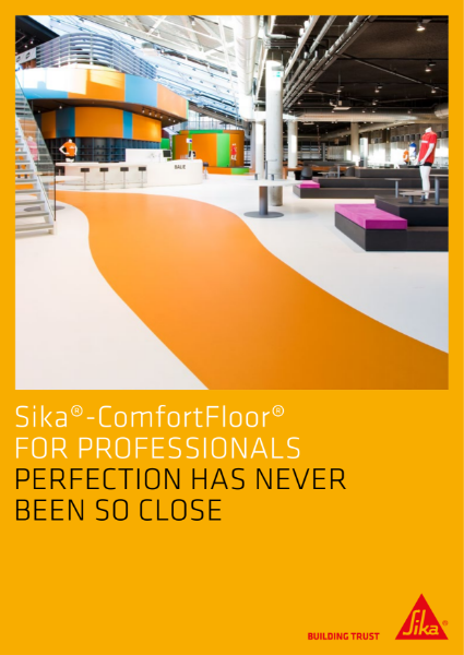 Sika ComfortFloor - Commercial and Public Building Solutions