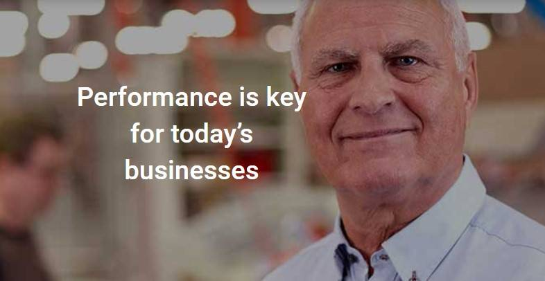 Performance is key for today's businesses