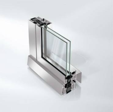 Highly thermally insulated aluminium window system - AWS70.HI