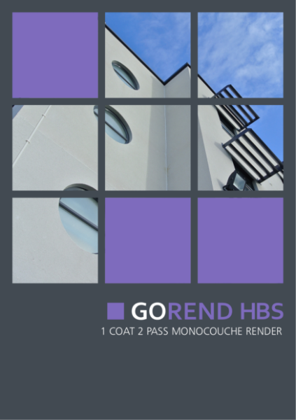6 Monocouche render for new builds