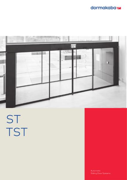DORMA ST TST - Automatic Sliding Door Systems