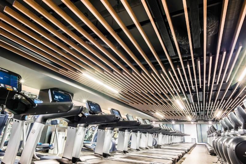 Suspended Ceiling System - Equinox Gym