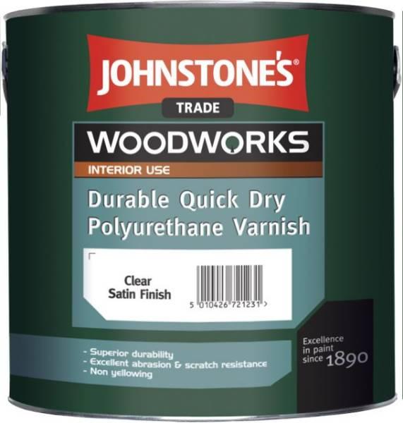 Quick Dry Polyurethane Varnish (Woodworks)