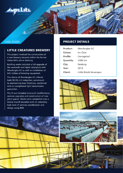 Case Study - Little Creatures Brewery