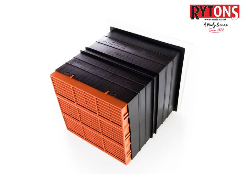 Rytons 9 x 9 Ventilation Set with Hit & Miss Ventilator Range