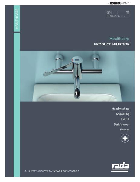 Rada Healthcare Product Selector