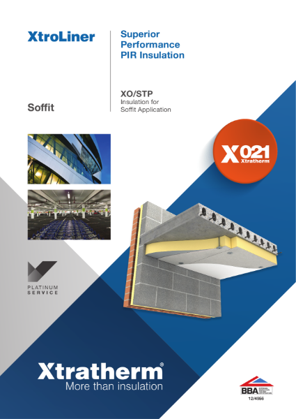 Insulation for Soffit Application (XO/STP)