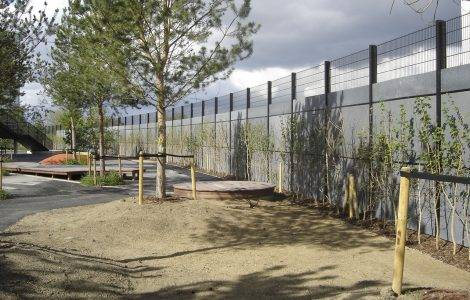 LEGACY PROJECT BOASTS FENCING FIRST