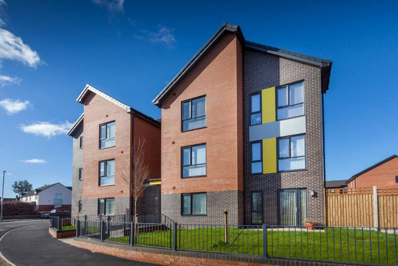 Social housing in Liverpool maximises thermal efficiency with Optima casement windows from Profile 22