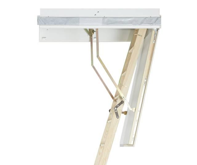 Designo Wooden Loft Ladder