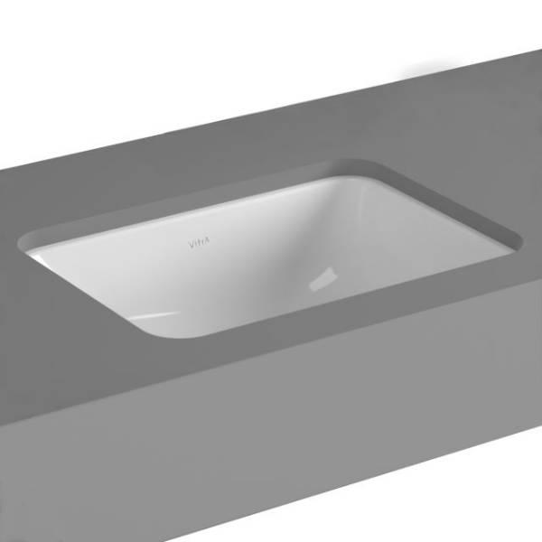 VitrA S20 Undercounter Basin, 43 cm, Square, 5474
