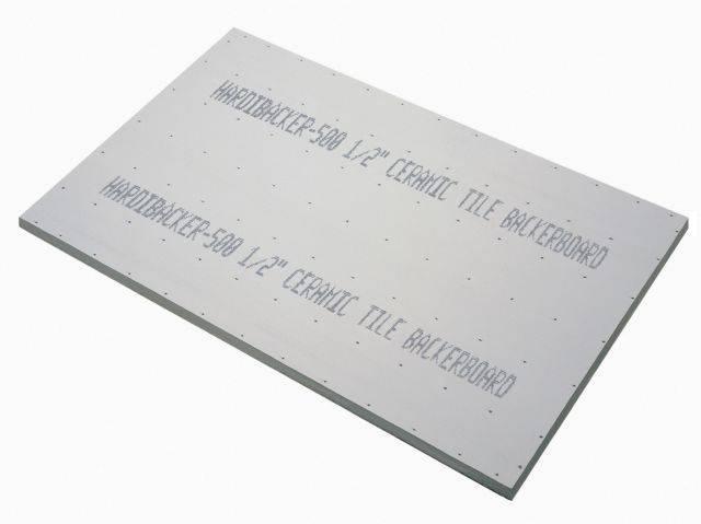 HardieBacker® 12 mm Cement Backerboard
