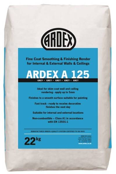 ARDEX A 125 Fine Finishing Render