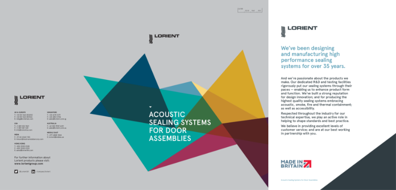 Lorient Acoustic Seals Brochure
