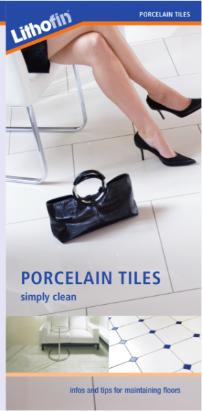 Porcelain Tiles - The KF Range for Cleaning and Protecting