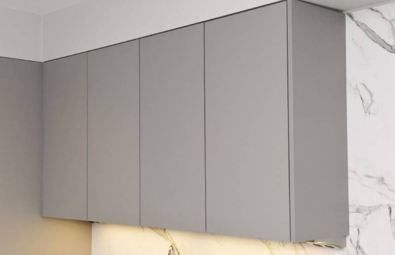 Extractor wall cabinet