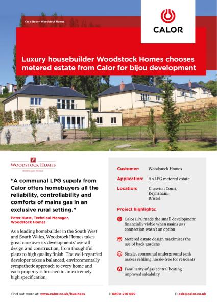 Woodstock Homes Case Study