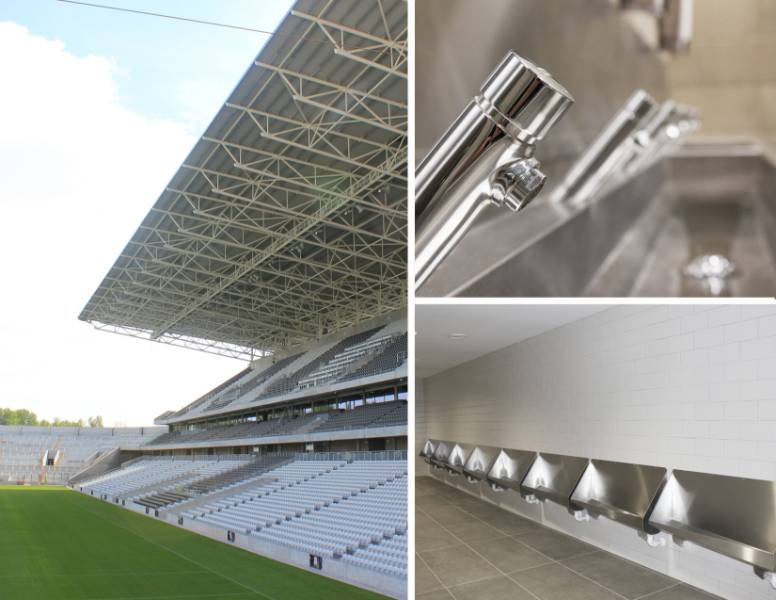 Franke products chosen for one of Ireland's most prestigious stadiums Pairc Ui Chaoimh