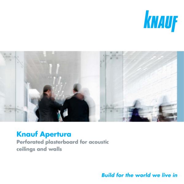Knauf Cleaneo Akustik (Apertura) ceiling panels