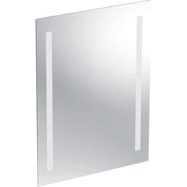 Option Basic illuminated mirror, lighting on both sides