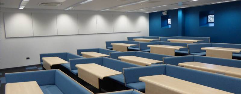 Loughborough University Collaborative Bench Seating